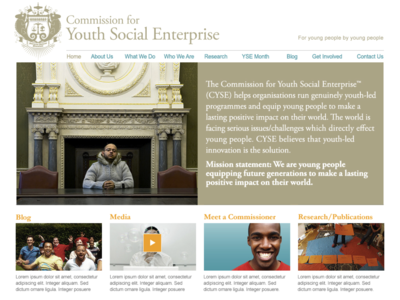 Cyse webpage